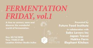 Fermentation Friday
